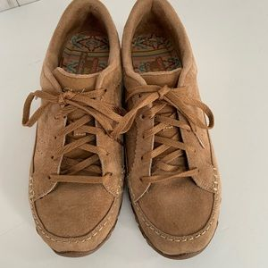 SKECHERS Wide Fit Suede Shoes Size 7